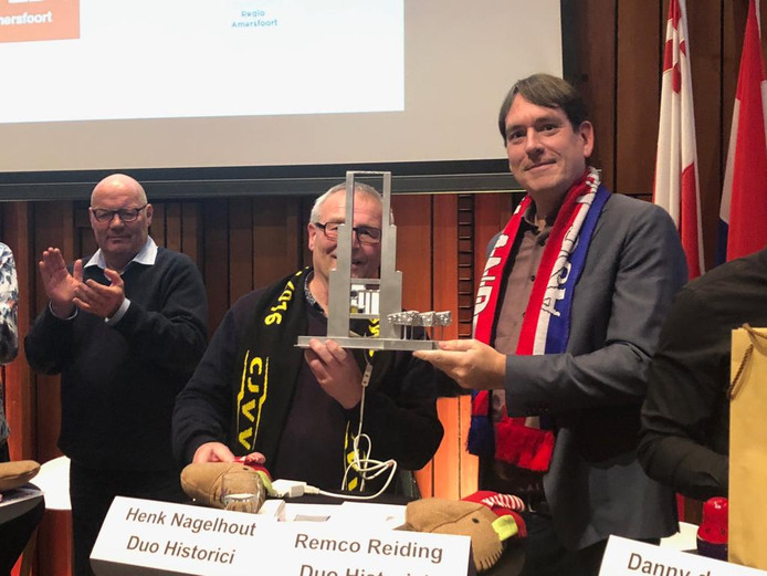Winnaars Henk Nagelhout en Remco Reiding.