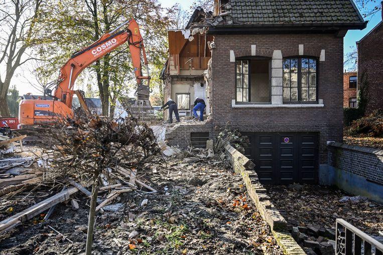 De voormalige villa van Pierre Verbeeck verdwijnt onder de sloophamer.