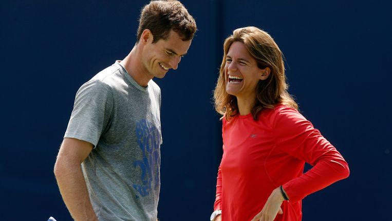 Amélie Mauresmo combineert haar taak bij de Franse bond met die als coach van Andy Murray.
