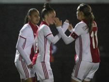 Koploper Ajax wint overtuigend bij herstart Vrouwen Eredivisie