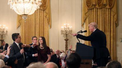 """Witte Huis trekt accreditatie CNN-verslaggever in na ruzie: """"Compleet buiten proportie"""""""