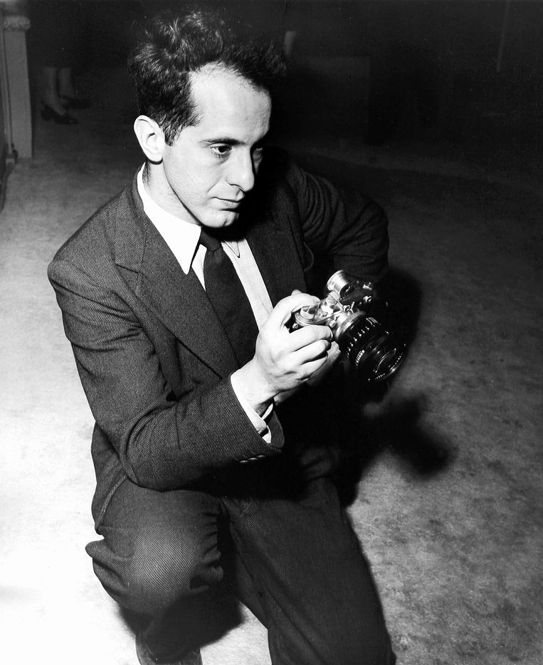 Robert Frank in 1954 Beeld DPA