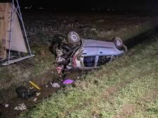 Vijf gewonden na aanrijding op A12 bij Duiven