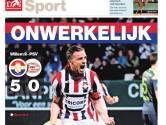 Willem II-PSV 5-0: een jaar geleden, onvergetelijk