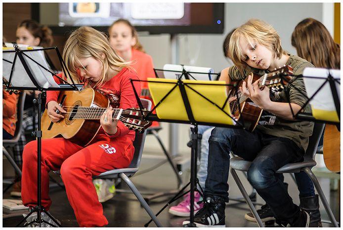 'Er is een programma gestart om cultuureducatie voor alle Brabantse kinderen mogelijk te maken.'