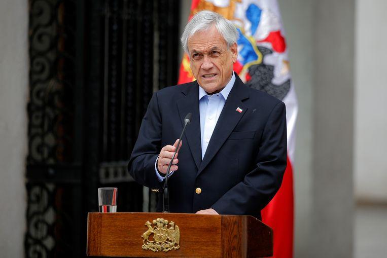 De Chileense president Sebastián Piñera.