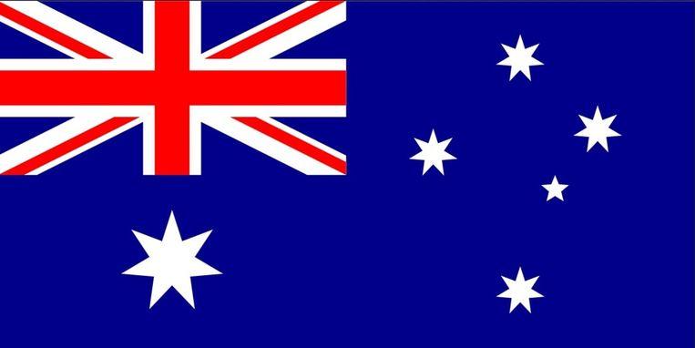 De vlag van Australië. Beeld Wikimedia / Creative Commons