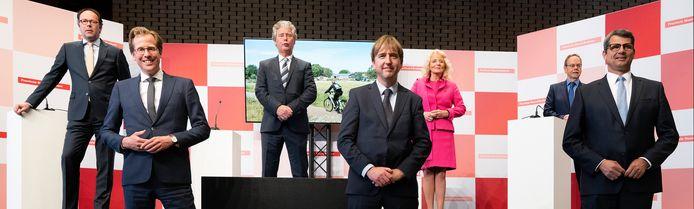 VVD, Forum voor Democratie, CDA en Lokaal Brabant vormen sinds vorig jaar de coalitie in Brabant.