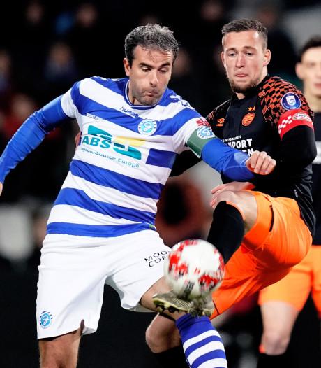 LIVE | De Graafschap neemt de leiding tegen Jong PSV