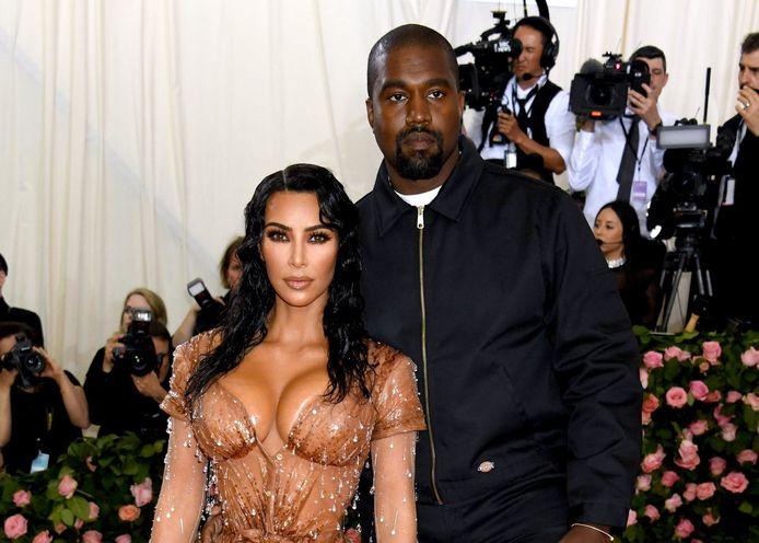 Kanye West en Kim Kardashian zouden toch gaan scheiden.