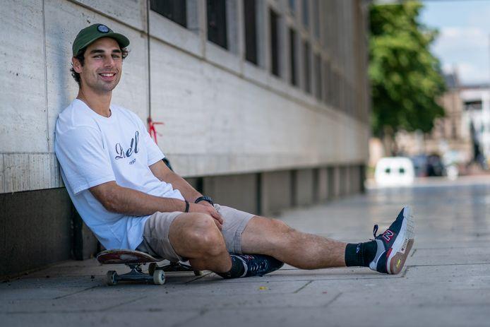 Douwe Maceré, skateboarder