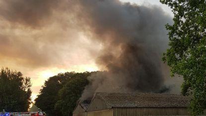 Zweefvliegtuigen gaan in vlammen op