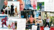 Kalender van Poetin die ijsbad neemt en fitnest verkoopt als zoete broodjes in Japan