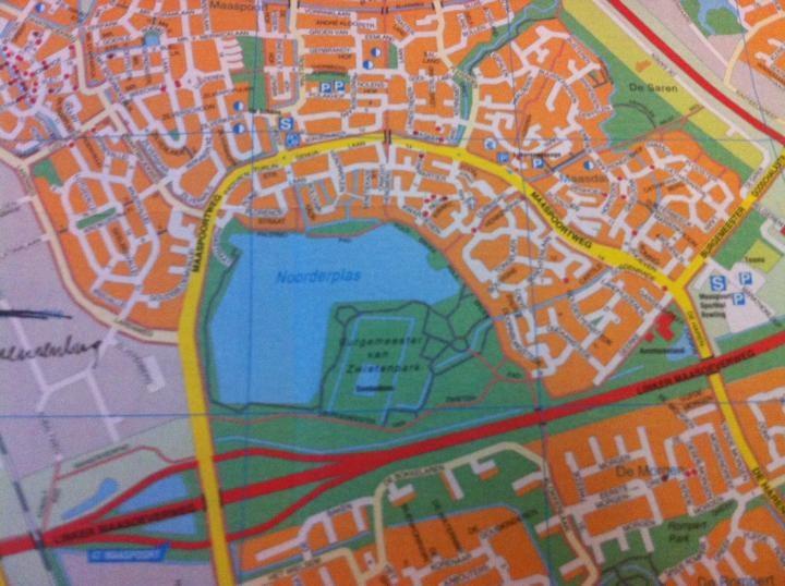 Is de wijk Maaspoort rijp voor een NS-station? foto Marc Brink/BD
