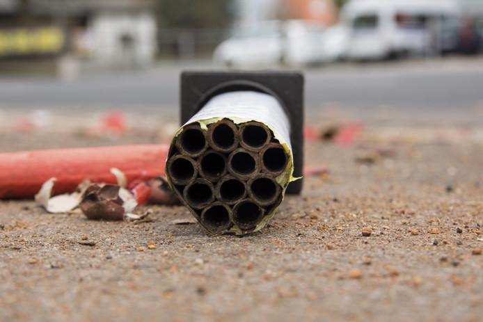 Het Sint Joris College in Eindhoven heeft melding gedaan van het illegale vuurwerk bij de politie.