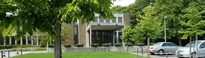 Het gemeentehuis van De Pinte.