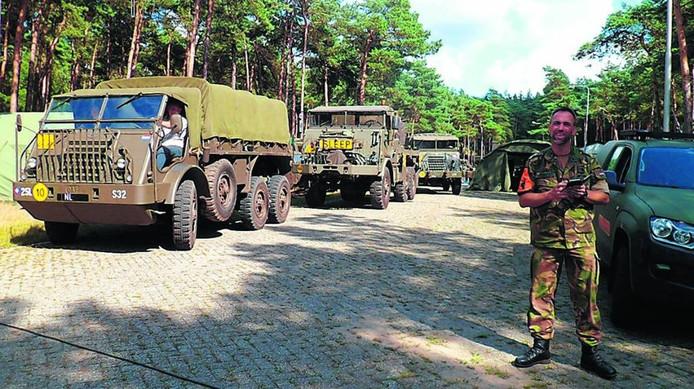 De Army Vehicle Club strijkt vanaf morgen neer op het crossterrein van MSV-NOV in Heerde.