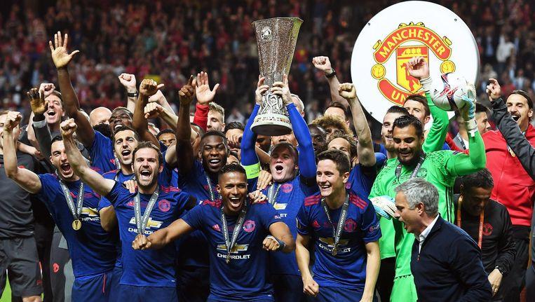 Manchester United won dit seizoen de Europa League. Ze versloegen Ajax in de finale. Beeld epa