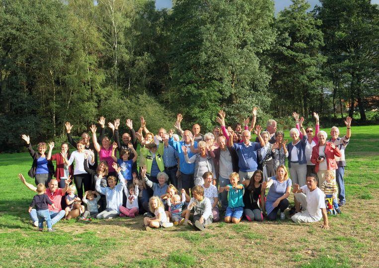 Vorig jaar beleefden Janneke Suurendonk-Groot en haar familie nog een gezellig weekend.  Beeld Privéfoto