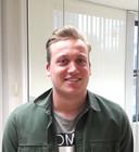 Niels Marks is op zijn plek bij de Associate degree-opleiding (online) marketing van Avans in Den Bosch: ,,Niet dagen achtereen in de boeken, maar meteen aan de slag.''