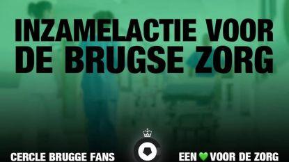 Cercle-fans starten met crowdfunding voor Brugse zorgsector: nu al 1.600 euro ingezameld