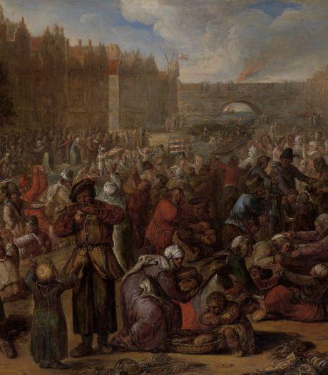 Resten Spaanse linie uit Tachtigjarige Oorlog gevonden