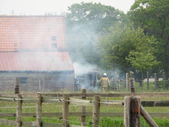 Brand Ooststraat Ruddervoorde