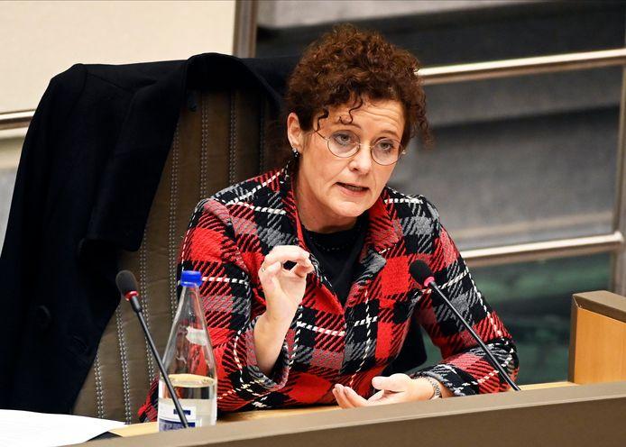 Minister Lydia Peeters