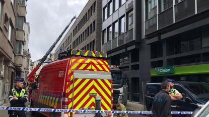 Drie arbeiders lichtgewond door brand in nieuwbouwproject