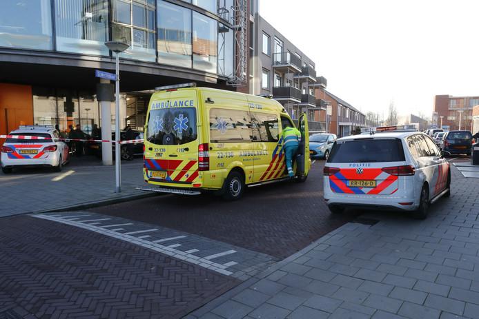 Steekpartij op advocatenkantoor in Eindhoven.