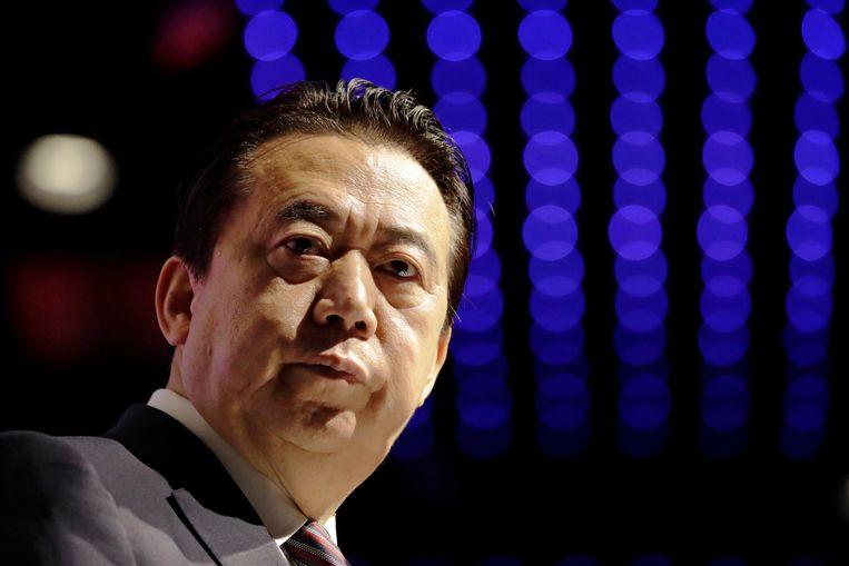 Meng Hongwei, de Chinese Interpol-voorzitter
