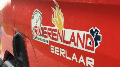 Autobrand in Anjerstraat