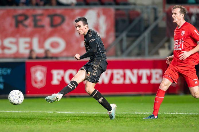Antoine Rabillard scoorde in december nog tegen FC Twente