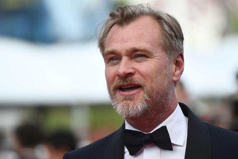 De Britse regisseur Christopher Nolan, vorig jaar op het festival van Cannes. Beeld AFP