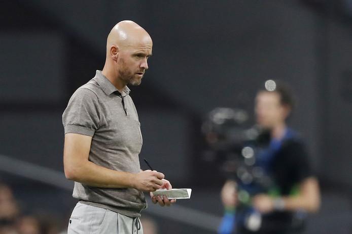 Ajax-coach Erik ten Hag.