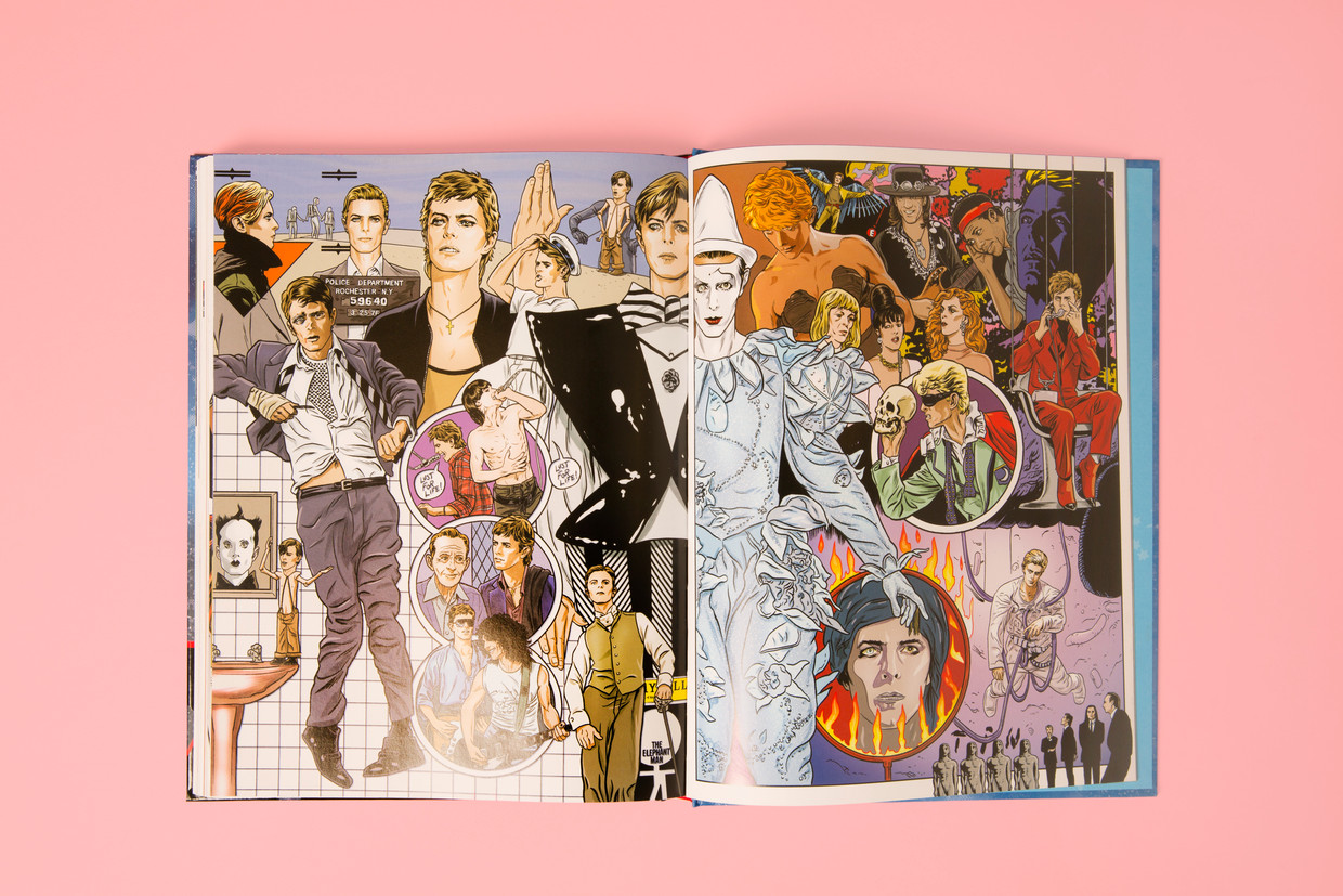 Bowie – Stardust, Rayguns & Moonage Daydreams.  Beeld Studio V