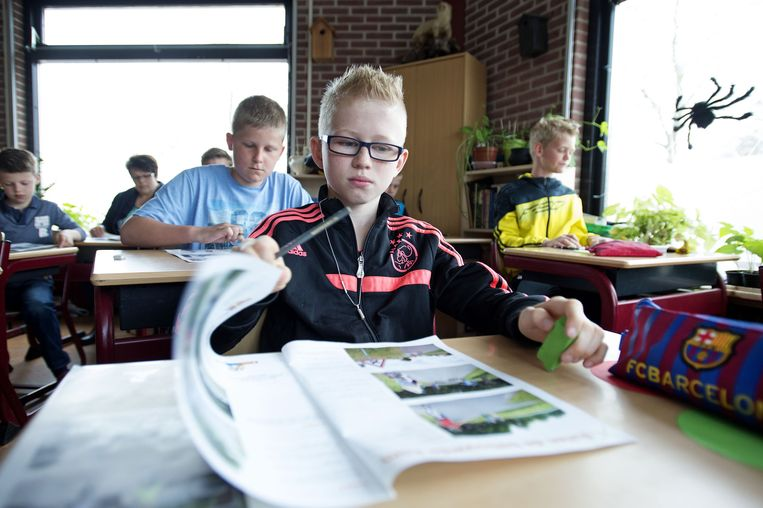Een basisschool in Volendam. Beeld anp