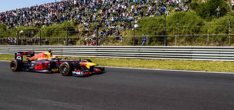Verstappen laat V8-motor brullen voor Nederlandse fans
