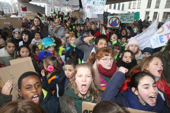 Alle vorige klimaatbetogingen in Gent mochten wel doorgaan, die van donderdag officieel niet. Maar de jongeren zullen er toch staan.