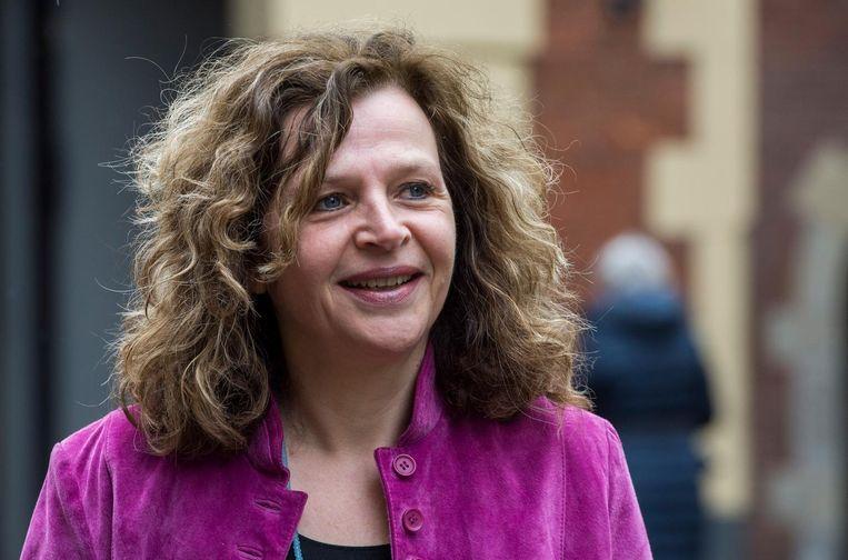 Edith Schippers heeft de koppen geteld. Zij is er onvoldoende van overtuigd dat ze een meerderheid van de gemeenteraad achter haar kandidatuur kan krijgen. Beeld anp
