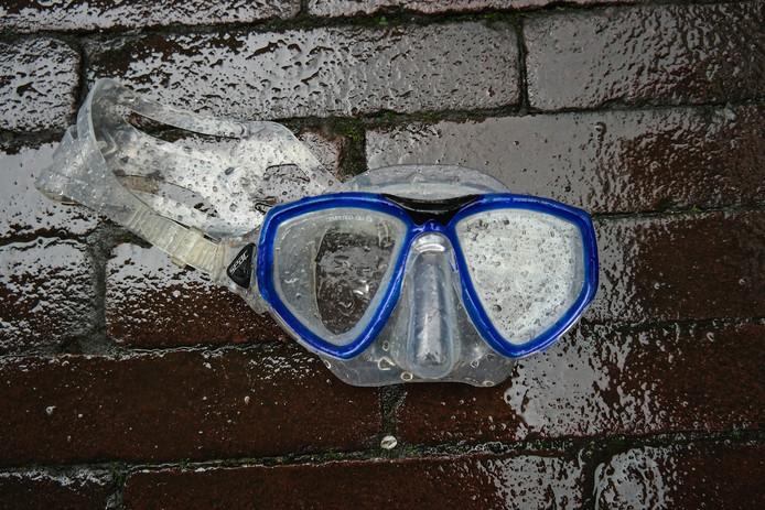 Duikbril op de Grote Markt in Breda- gevonden voorwerpen
