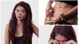 """Sarah Hyland toont haar littekens in emotioneel filmpje: """"Ik stootte de nier van mijn vader af en voelde me enorm schuldig"""""""