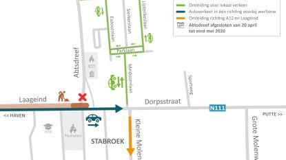 Hoofdwerken aan Dorpsstraat en Laageind (N111) veroorzaken verkeershinder