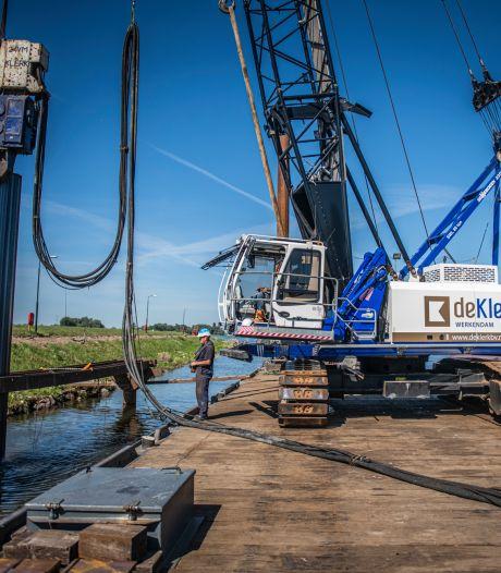 Werk aan gemeentehaven Hardinxveld nu eindelijk begonnen