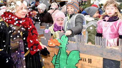 Carnaval bij de kleuters van Het Nestje