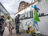 Febo-muur weer mooi: klaar voor de heropbouw