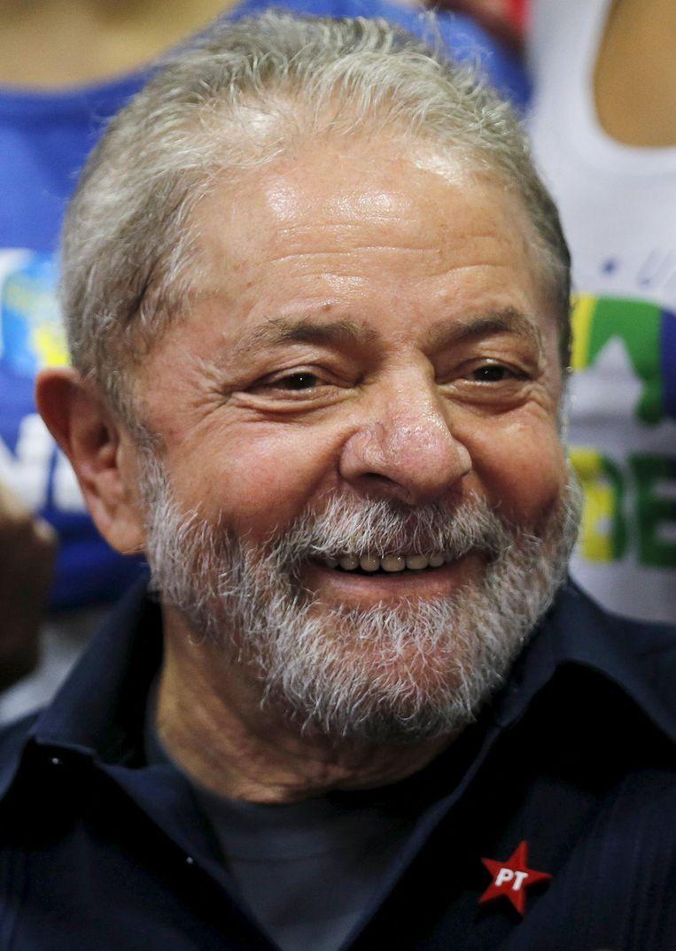 Luiz Inácio Lula da Silva, oud-president van Brazilië. Beeld Reuters