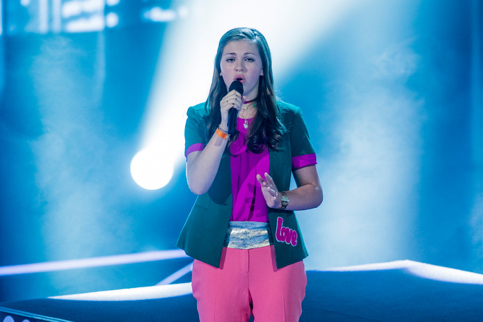 Iris wint The Voice Kids.