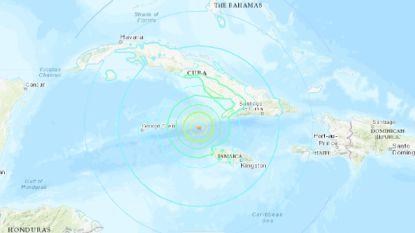 Zware zeebeving in de Caraïben, kans op tsunami