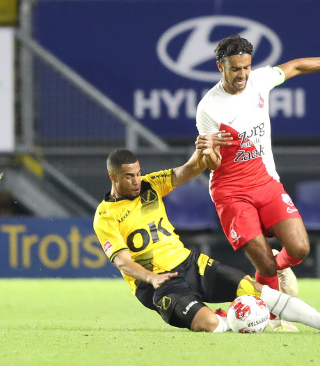 NAC-back Van Anholt na teleurstellende avond tegen Jong FC Utrecht: 'Het was te geforceerd'